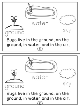 Insects Mini Readers For Primary(K-2)