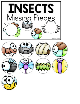 Insects Missing Pieces Task Box | Task Boxes for Special Education