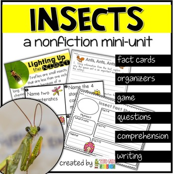 Insects Nonfiction Reading