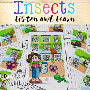 Insects Nonfiction Listen and Learn