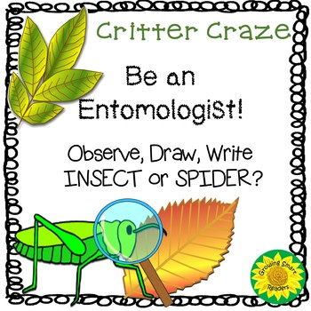 Insects! Observe and Write