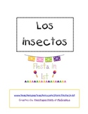 Insects Packet in Spanish / Paquete de insectos