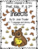 DISTANCE LEARNING: Insects (PreK, Kdg, 1st)