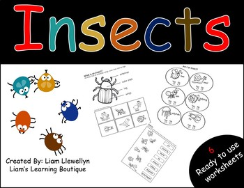 Insects - PreK to G2 - Science