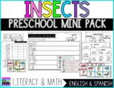 Insects Preschool Minipack   Literacy & Math   Spanish & English