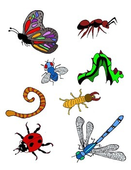 Insects Pretend Play Printables