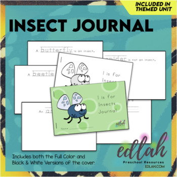 Insects Printable Journal