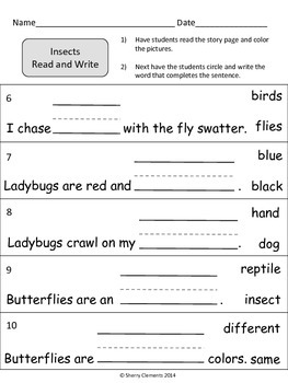 Insects Read and Write