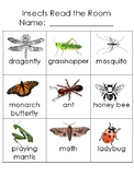 Insects:  Read the Room Cards