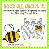 Insects Reading Interest Pack for Beginning Readers