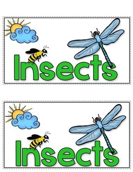Insects Tab-Its®