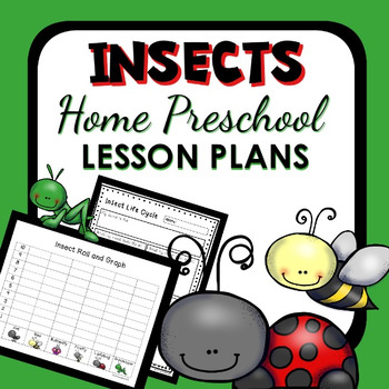 Insects Theme Home Preschool Lesson Plans