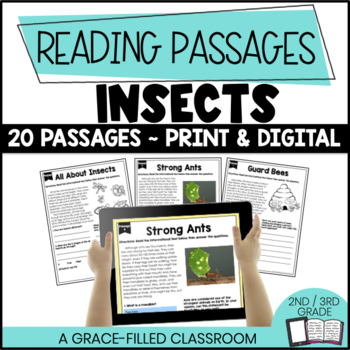 Insects Themed: 20 Short Passages