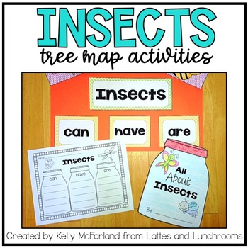 Insects! {Tree Map Activities}