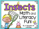 Insects Unit! Math, Literacy, & Writing Fun!