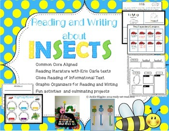 Insects Unit: Reading and Writing Informational and Narrative Text