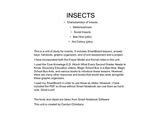 Insects Unit of Study PDF