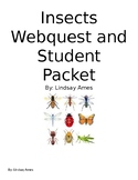 Insects Webquest for Elementary or Special Education