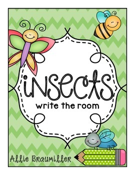 Insects: Write the Room