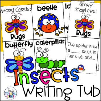 Insects Writing Tub