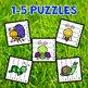 Insects and Bugs Number Sequencing Puzzles - Set of 10