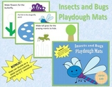 Insects and Bugs Playdough Mats OR Distal Control Coloring Pages