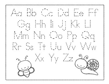 Insects and Bugs Preschool Packet-Free Sample