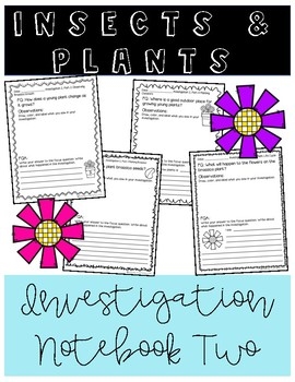 Insects and Plants Notebook 2 (FOSS)