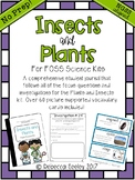 Insects and Plants: FOSS- A Fun, Kid-Friendly, Science Journal