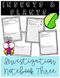 Insects and Plants Notebook 3 (FOSS)