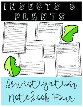 Insects and Plants Notebook 4 (FOSS)