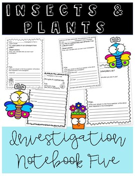 Insects and Plants Notebook 5 (FOSS)