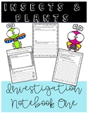Insects and Plants Notebook (FOSS)