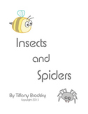 Insects and Spiders: A Science Comprehension Check
