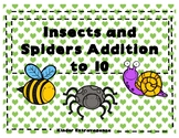 Insects and Spiders Addition to 10