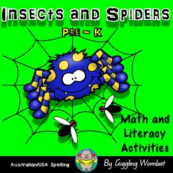 Insects and Spiders Math and Literacy Activities
