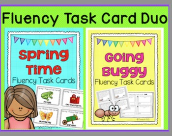 Fluency Reading Comprehension Passages Spring Bugs