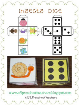 Insects and more for Preschool ELA