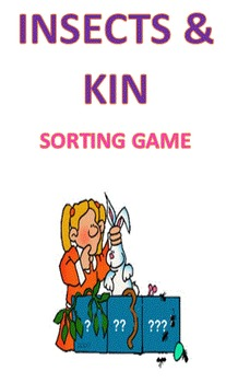 Insects and their Kin Sort Game