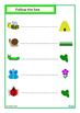 Insects Match, Count, Sequence, Write & Wipe BUNDLE, Autism, Special Education