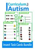 Insects Match Count Sequence Basic Concepts BUNDLE Autism