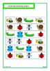Insects Match, Count, Sequence, Write & Wipe BUNDLE, Autis