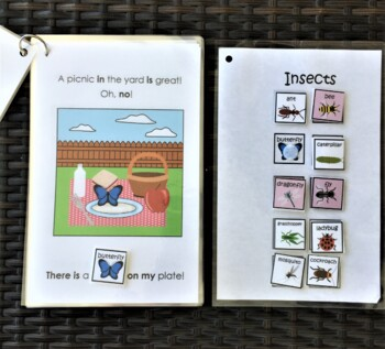 Insects on My Plate! Interactive Mini-Book