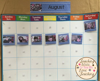 Add Your Own Pictures: Daily Calendars Cards