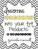 Inserting Quality into Your TpT Products - Handout for the TpT Conference