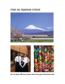 Inset on Japanese culture