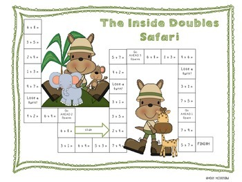 Inside Doubles Facts/Doubles + 2 Game Set