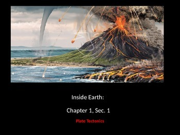 Inside Earth: Chapter 1 Section 1 Power Point Notes and/or Review