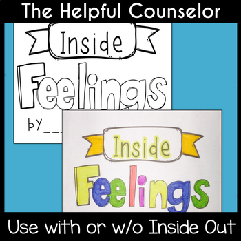 Inside Feelings Booklet - Use with or w/o the movie Inside Out