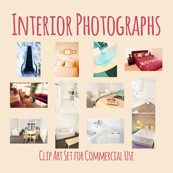 Inside / Interior House Photos / Photographs Clip Art Commercial Use